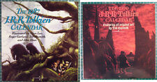 Large Lot of Tolkien Calendars Lord of the Rings Hobbit