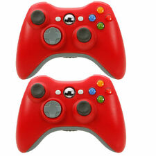 2x Wireless Game Remote Controller for Microsoft Xbox 360 Console+USB Receiver