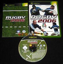 RUGBY CHALLENGE 2006 XBOX 1 Versione Ufficiale Italiana ○○○○○ COMPLETO