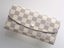 G7367M Authentic Louis Vuitton Azur Emilie Bifold Long Wallet