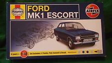 AIRFIX HAYNES FORD ESCORT MKI CAR MODEL KIT 1/32 #14178
