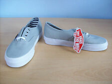 Trainers Vans Unisex Authentic Skate Shoes Low Top Trainers Grey UK 3.5 New+Tags
