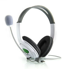Earphone Live Headset Headphone+Microphone for Microsoft XBOX360 XBOX 360 Slim#
