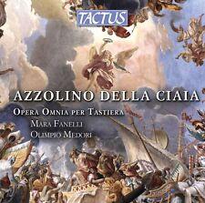 AZZOLINO DELLA CIAIA: OPERA OMNIA PER TASTIERA - FANELLI - 3CD NUOVO SIGILLATO