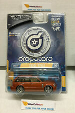 Range Rover * ORANGE * Hot Wheels Dropstars 1:50 Scale * Z27