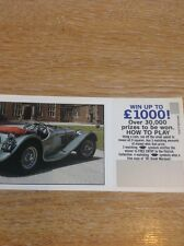 Trade Card The Patrick Collection Ss 100 Jaguar With Coupon M48800