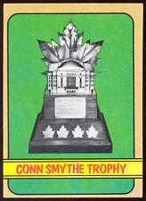 1972 73 TOPPS HOCKEY 176 CONN SMYTHE TROPHY NM WITH BOBBY ORR MVP WINNER ON BACK