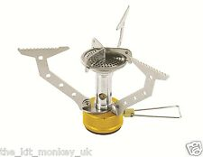 Highlander HPX 100 High Performance Trekking Butane Stove, ideal for Camping