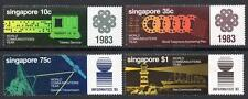 SINGAPORE MNH 1983 SG463-66 World Communications Year