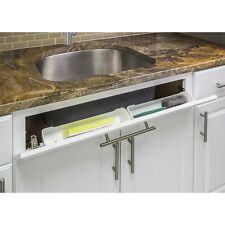 "14"" Kitchen Sink Cabinet Tip Out White Tray Tilt Out  TO14S-REPL"