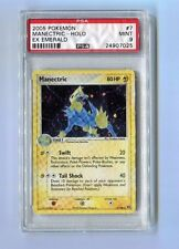 Pokemon PSA 9 Mint MANECTRIC 7/106 RARE HOLO - Ex Emerald