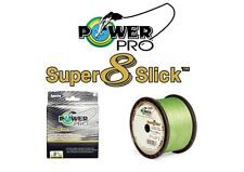 POWER PRO BRAIDED LINE POWERPRO SUPER 8 SLICK 15LB-300YD AQUA GREEN