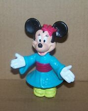 DISNEY MINNIE MOUSE IN JAPAN EPCOT CENTER WDW 1993 MCDONALD'S FIGURE 3 IN LOOSE