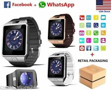 Smart Watch as a mini Smartphones w/ Camera & Bluetooth for Iphone & Android