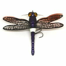 Demented Dragonfly surface popper with flex wings UK 1st FISHIN ADDICT