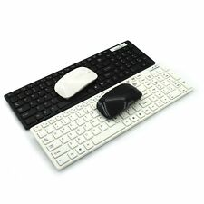 New Urtal Thin Wireless Keyboard & Magic Mouse Kit For Windows Mac OS