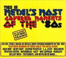 METALS MOST COVERED MOMENTS 80s 2CD Classic Rock TWISTED SISTER WARRANT RATT