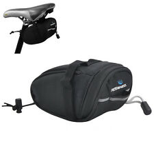 ROSWHEEL Bicycle Bike Cycling Saddle Outdoor Pouch Seat Waterproof Bag Special