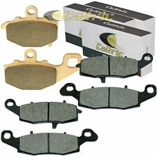 FRONT and REAR BRAKE PADS Fits KAWASAKI EX650 Ninja 650R 2009 2010 2011