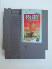 Iron Tank (Nintendo NES, 1988) Game Only--Tested (NTSC/US/CA)