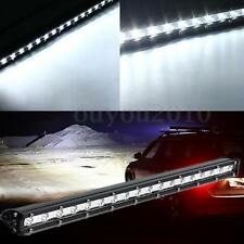 19 Inch 54W LED Slim Flood Working Light Bar OffRoad Driving Truck SUV Jeep