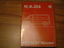 MANUEL DE REPARATION RENAULT MASTER MECANIQUE MR 224