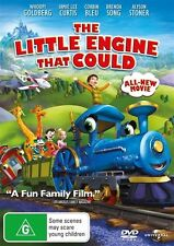 THE LITTLE ENGINE THAT COULD DVD Whoopi Goldberg Jamie Lee Curtis NEW R4*