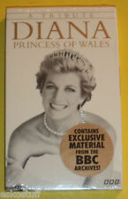 Tribute to Diana Princess of Wales 1997 Audio Cassettes 2 Tapes NEW Nice See!
