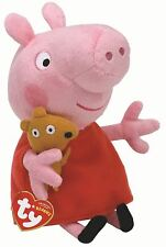 Peppa Pig - Ty Beanie Babies Peluche Orsacchiotto - Peluche