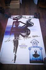 GUERLAIN LA PETITE ROBE NOIRE E 4x6 ft Shelter Original Vintage Fashion Poster