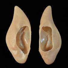 Hot Latex Elf Fairy Ear Tips Halloween Party Costume Hobbit Vulcan Spock Cosplay