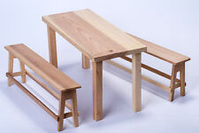 "1/6 Scale  Action Figure Table Chair Model Toy Bench For 12"" Collection"
