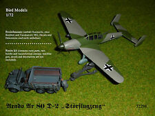 "Arado Ar 80 D-2 ""Störflugzeug""        1/72 Bird Models Resinbausatz / resin kit"