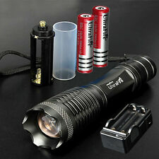 UltraFire 10000lm CREE XML T6 LED Bike Light Flashlight Torch Lamp+18650+Charger