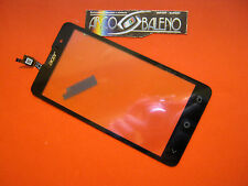 VETRO + TOUCH SCREEN per ACER LIQUID Z500 LCD DISPLAY VETRINO NERO BLACK RICAMBI