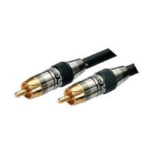 MX Subwoofer Ofc Composite Audio Rca Cable Heavy Duty Connectors -MX 2134