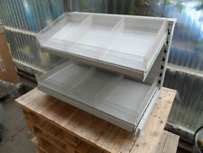 TEGO METAL SHELF WITH COMPARTMENTS SEPARATOR CANDY COUNTER ATTACHMENT KIOSK