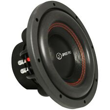 "SUBWOOFER BASS FACE SPL 10.2 10"" 250 MM 1400 WATTS MAX DOUBLE COIL 4 + 4 OHM DVC"