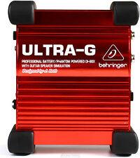 New Behringer Ultra-G GI100 Direct box Buy it Now! Make Offer! Auth Dealer!