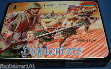 STRELETS SET M 51 HIGHLANDERS 1898-1902 COLONIAL ERA BRITISH INFANTRY 1/72 SCALE