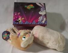 WB Looney Tunes SPACE JAM Basketball Kids LOLA BUNNY SLIPPERS Size L 9-10 NEW