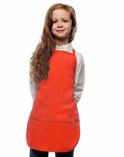 Daystar Aprons 1 Style 250 Children's Two pocket kids bib apron ~ Made in USA