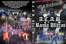 DVD ACAB ROMA  VOLUME 2  (AS ROMA,ULTRAS,HOOLIGANS,1312,amf,CURVA SUD,SCONTRI)