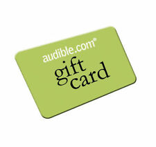 100 Audible.com books of your choice up to 1000$ value each Gift Card