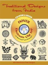 Traditional Designs from India CD-ROM and Book Dover Electronic Clip Art