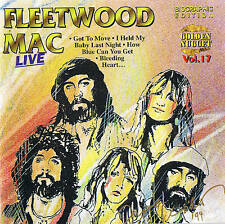 "Fleetwood Mac ""Limit. biographic Edition"" Live 10 tracks CD NEUF & OVP Cosmus DSB"