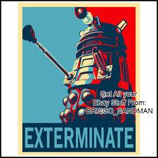 Fridge Fun Refrigerator Magnet DOCTOR WHO DALEKS propaganda poster -version A-