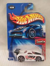 Hot Wheels  First Editions  2004-038 Toyota MR2  White  NOC  1:64  (417) B3547