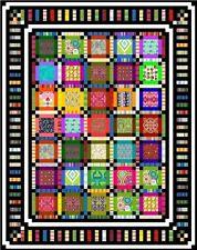"NEON - 67"" x 53"" - Quilt-Addicts Pre-cut Patchwork Quilt Kit Single"
