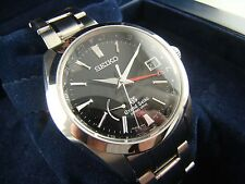 NEW! GRAND SEIKO Spring Drive GMT SBGE011 Steel Watch